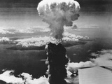 A-Bomb Damage to Nagasaki Photographic Print