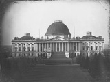 East Face of U. S. Capitol in 1846 Photographic Print by John Plumbe Jr.