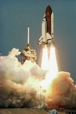 Space Shuttle Columbia Launching on Sts-9 Photographic Print by Roger Ressmeyer