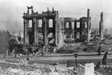 Ruins after San Francisco Earthquake Photographic Print by Arnold Genthe