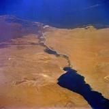 Suez Canal Photographic Print