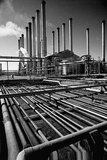 Abadan Oil Refinery Photographic Print by Roger Wood