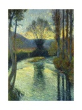 Banks of the River Giclee Print by Henri Martin