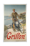 Griffon Poster Giclee Print by Frederic Hugo d'Alesi