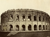 Roman Amphitheater at Nimes Photographic Print by Chris Hellier