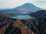 Mount Fuji and Mount Hakone Photographic Print by Charles Rotkin