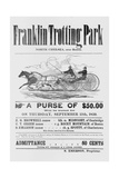 Ad for Trotter Races Giclee Print
