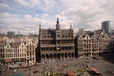 The Grand' Place in Brussels Photographic Print by Vittoriano Rastelli