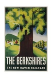 The New Haven Railroad Advertising Travel Poster, the Berkshires Wydruk giclee