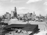 Baltimore Skyline from Federal Hill Photographic Print