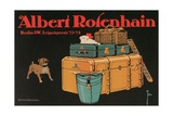Poster for Albert Rosenhain Trunk Giclee Print