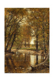 Spring on the River Giclee Print by Thomas Worthington Whittredge