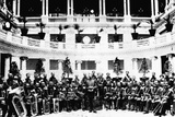John Sousa and United States Marine Corps Band Photographic Print