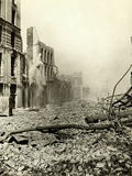 San Francisco Earthquake Rubble Photographic Print