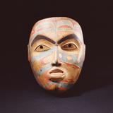 A Haida Portrait Mask Photographic Print