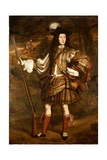 A Highland Chieftain: Portrait of Lord Mungo Murray in Highland Dress Giclee Print by John Michael Wright
