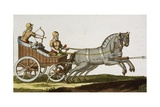 Print of Ancient Syrian Chariot Giclee Print