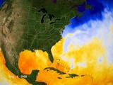 Sea Surface Temperature Map Photographic Print