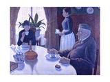 Breakfast Giclee Print by Paul Signac
