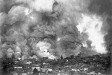 San Francisco in Flames Photographic Print by A.L. Murat