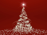 Christmas Tree Shaped Reproduction photographique