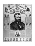 Poster of Ulysses Grant and Henry Willson Giclee Print