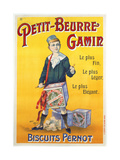 Petit-Beurre Gamin Giclee Print by Jack Abeille