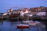 Harbor on Fife Coast Photographic Print by Vittoriano Rastelli