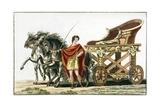 Print of Roman Chariot Giclee Print