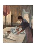 Woman Ironing Giclée-tryk af Edgar Degas