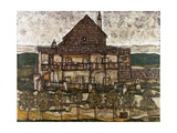 House with Shingle Roof (Old House II) Giclee Print by Egon Schiele