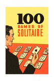 100 Games of Solitaire Giclee Print