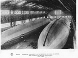 Airship Hangar Photographic Print