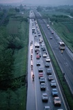 Traffic on Italian Highway Photographic Print by Vittoriano Rastelli