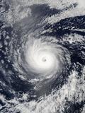 Hurricane Daniel Photographic Print