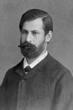 Head and Shoulders Portrait of Sigmund Freud Photographic Print by Wilhelm Engel