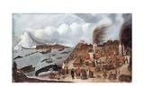 Danish Whaling Station Giclee Print by Abraham Speeck