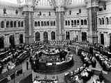 Library of Congress Reading Room Photographic Print
