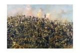 Custer's Last Stand Giclee Print by Edgar Samuel Paxson