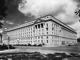 Department of Justice Building in Washington D. C. Photographic Print