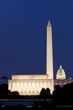 Landmarks in Washington, DC Photographic Print by Paul Souders