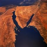Sinai Peninsula Photographic Print
