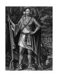Sa Ga Yeath Qua Pieth Ton, King of the Maguas Giclee Print by John Simon