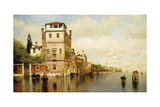 Mid-Day at Venice Giclee Print by Henry Pember Smith