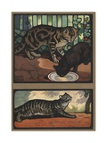 Cats Giclee Print by Edwin Noble