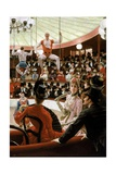 Women of Paris: the Circus Lover Giclee Print by James Tissot