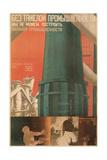 Soviet Factory Poster Giclee Print