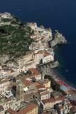 Italian Coastal Town Photographic Print by Vittoriano Rastelli