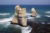 Twelve Apostles Sea Stacks Near Gibsons Steps in Australia Photographic Print by Paul Souders