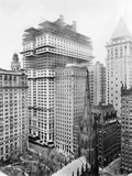 Construction of the Equitable Building, New York Photographic Print